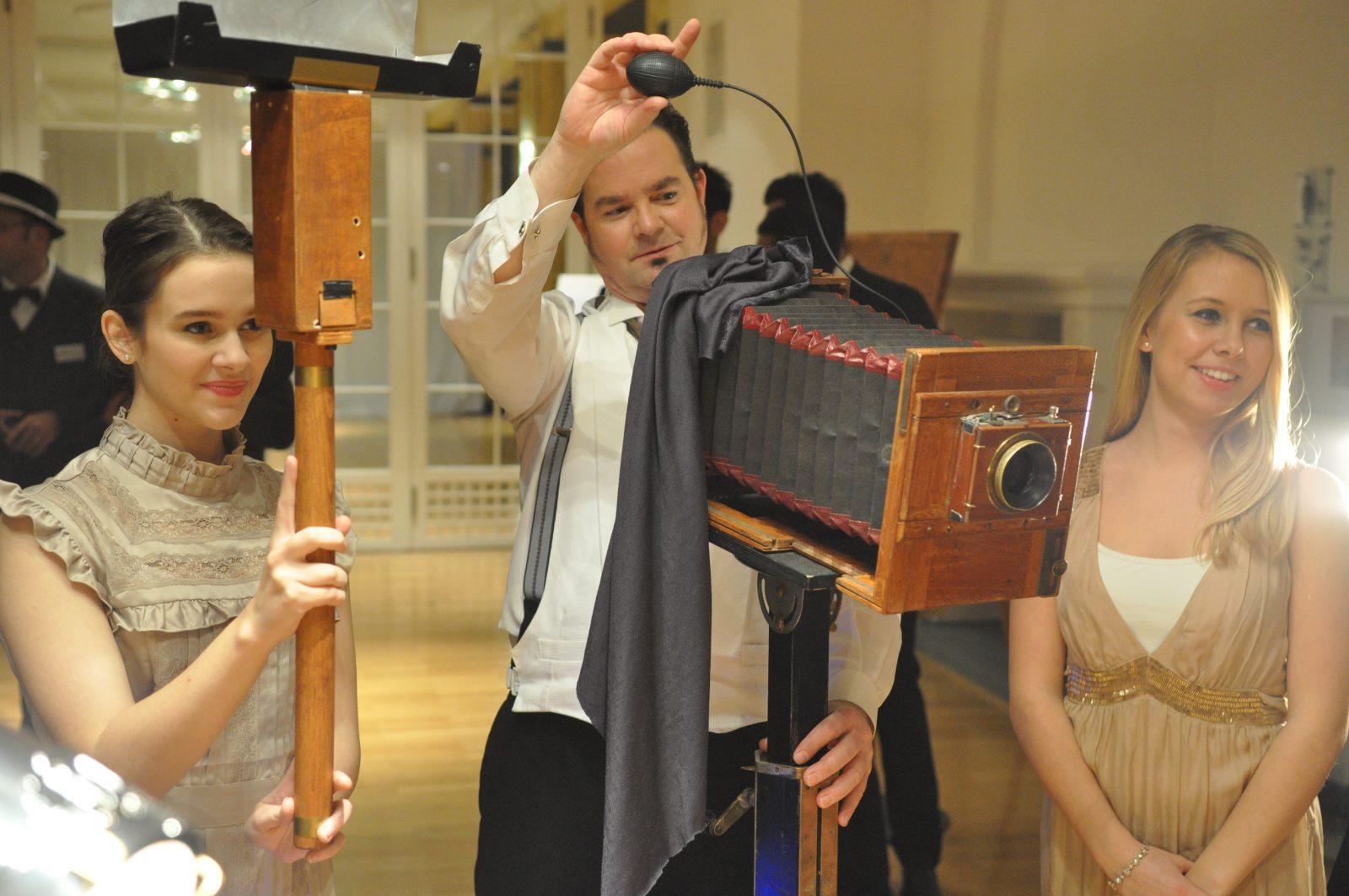 Eventfotografie mit einer alten Kamera